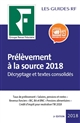 PRELEVEMENT A LA SOURCE 2018